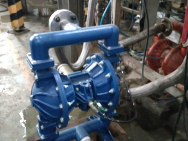 2in. Diaphragm Pump for Glue Application