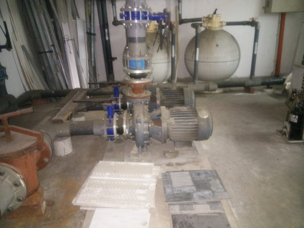 Close-coupled Centrifugal Pump for Swimming Pool