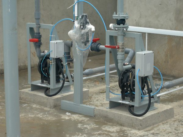 Diaphragm Pump for Waste Water Treatment Plant