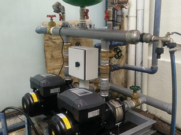 Variable Frequency Booster Pump System for Golf Club Water Supply