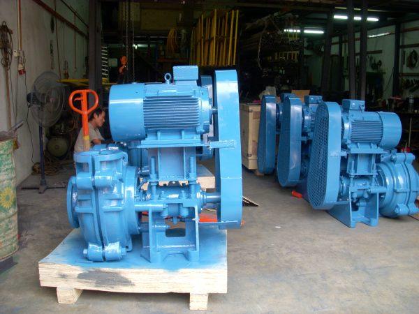 Pump for Felda Assembled at Workshop